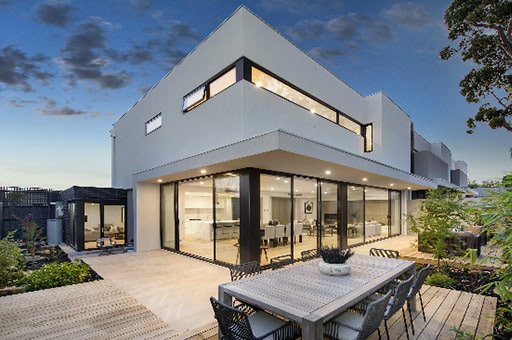 HIA 2017 Australian Townhouse Development of the Year' award for our 4 Townhouse project 'Montana'